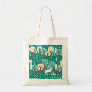 UNICORN FOREST TOTE BAG