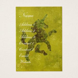 Unicorn Fresco Business Card