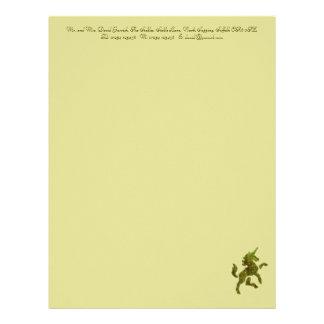 Unicorn Fresco Letterhead