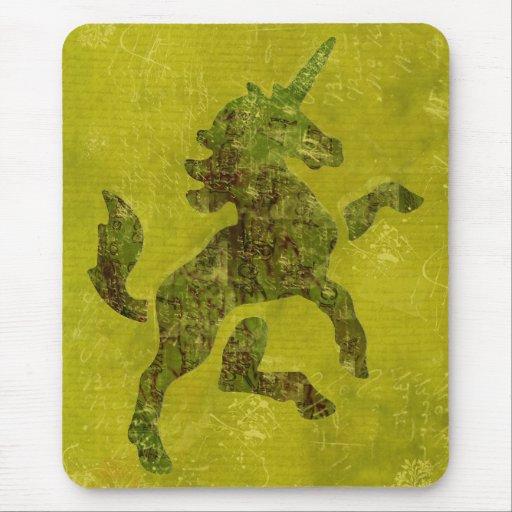 Unicorn Fresco Mousepad