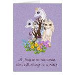 Unicorn Friends Pixel Art Greeting Card
