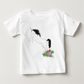 Unicorn from the Flowers Baby T-Shirt