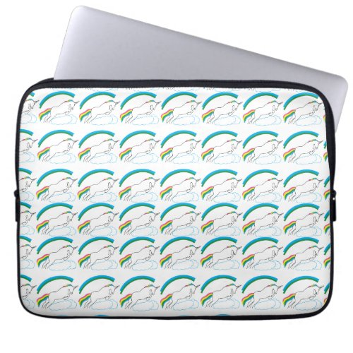 Unicorn Funny Laptop Sleeve- Neoprene Computer Sleeve