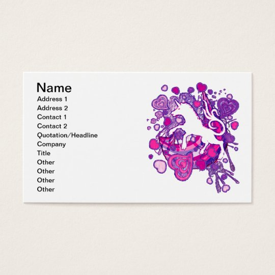 Unicorn_Gallop Business Card