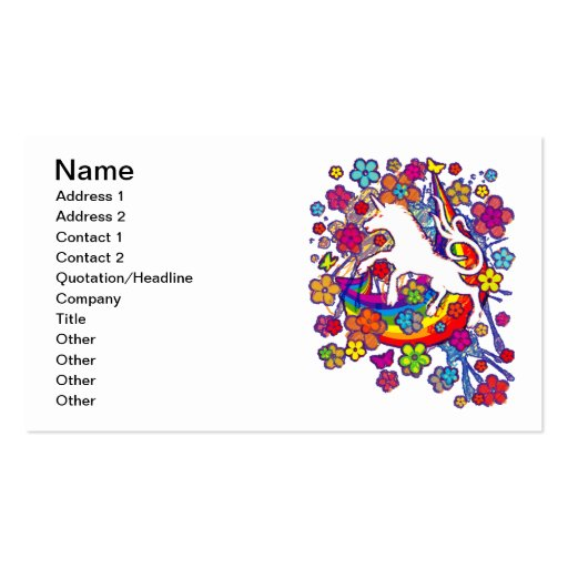 Unicorn_Gallop Business Cards