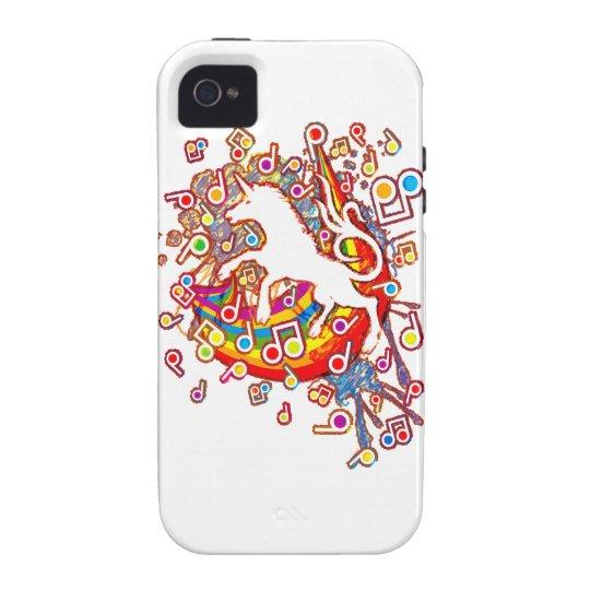 Unicorn_Gallop iPhone 4 Cover