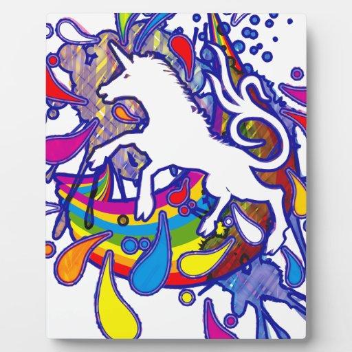 Unicorn_Gallop Placas Con Foto