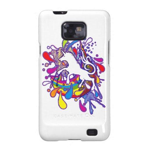 Unicorn_Gallop Samsung Galaxy SII Carcasas