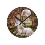 Unicorn Garden Clocks