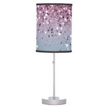 Unicorn Girls Glitter #6 #shiny #pastel Table Lamp