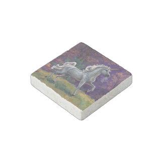 Unicorn Glade Stone Magnet