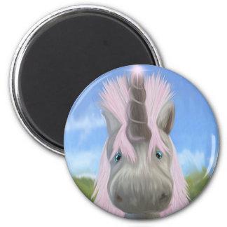 Unicorn glow fridge magnets