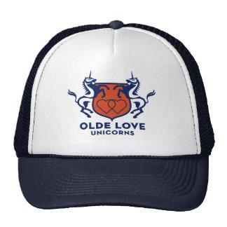 Unicorn hair cover trucker hat
