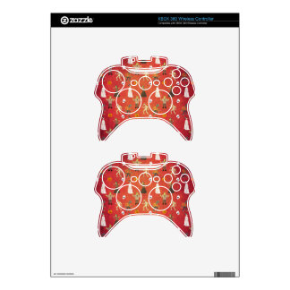 Unicorn Halloween Party Pattern Xbox 360 Controller Decal