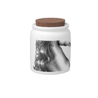 unicorn head candy jar