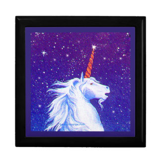 Unicorn Head Stars Magic Gift Box