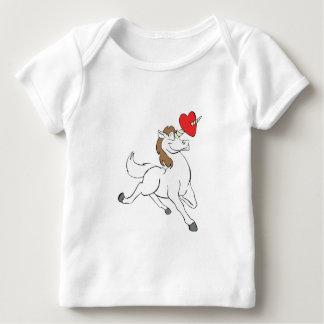Unicorn Heart Baby T-Shirt
