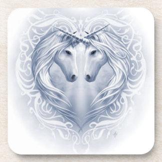 Unicorn Heart Drink Coaster