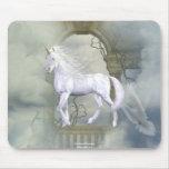 Unicorn Heaven White Beauty 2 Mouse Pad