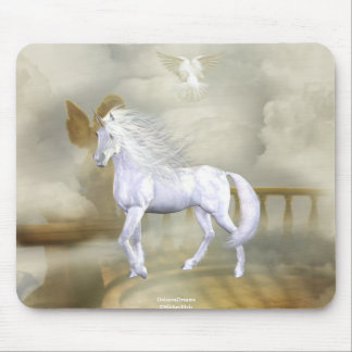 Unicorn Heaven White Beauty 6 Mouse Pad