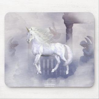 Unicorn Heaven White Beauty 8 Mouse Pad