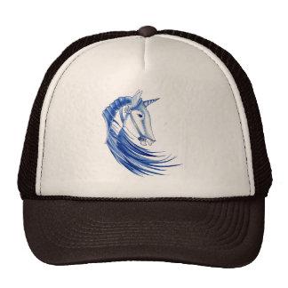 Unicorn Helmet Trucker Hats