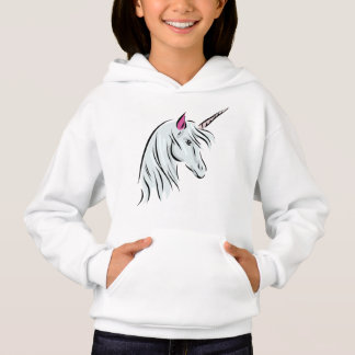 Unicorn Hoodie for Girls