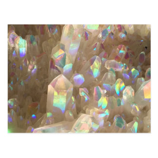 Unicorn Horn Aura Crystals Postcard