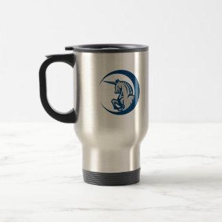 Unicorn Horse Prancing Side 15 Oz Stainless Steel Travel Mug