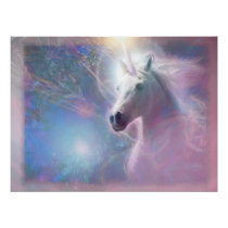 Unicorn Horse SHAFIRE Poster