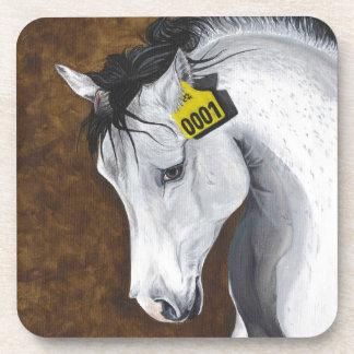 Unicorn: How Far Would We Go? Beverage Coaster