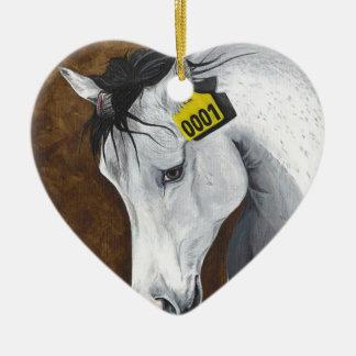 Unicorn: How Far Would We Go? Ceramic Ornament