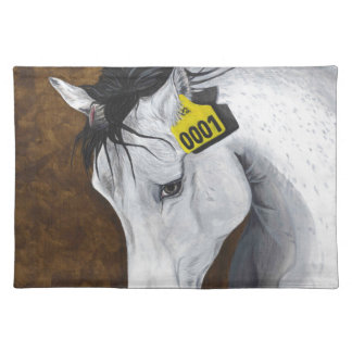 Unicorn: How Far Would We Go? Cloth Placemat