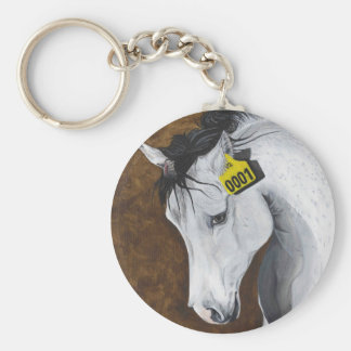 Unicorn: How Far Would We Go? Basic Round Button Keychain