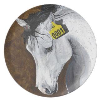 Unicorn: How Far Would We Go? Melamine Plate