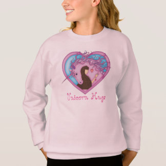 Unicorn Hugs - Pink Sweatshirt