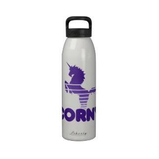 Unicorn Humor Water Bottles