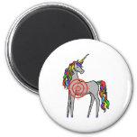 Unicorn Hunter 2 Inch Round Magnet