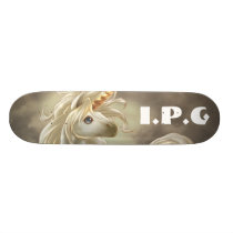 unicorn, I.P.G Skateboard Deck