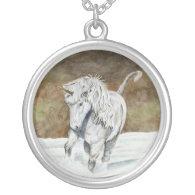 Unicorn Icelandic Custom Necklace