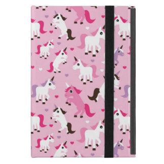 unicorn illustration kids background iPad mini case