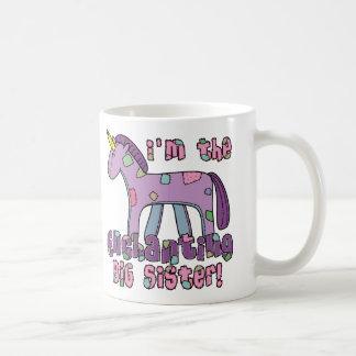 Unicorn I'm the Big Sister Coffee Mug