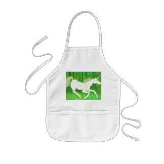 Unicorn in a Forest Apron