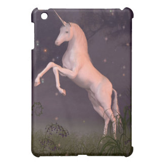Unicorn in a Moonlit Forest Glade iPad Mini Case