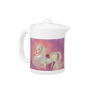 Unicorn In Blush Of Dawn