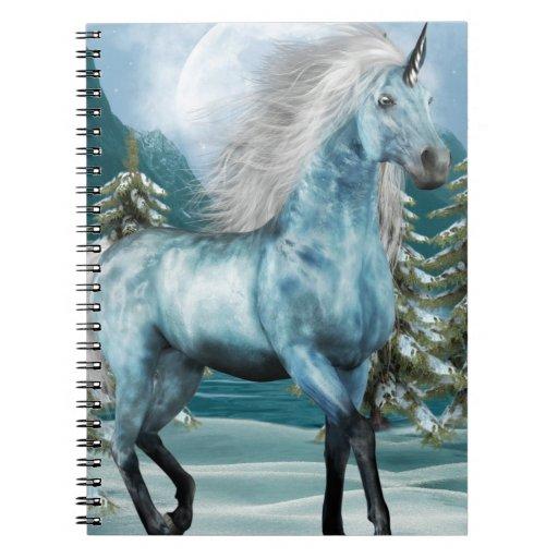 Unicorn in Moonlight  Notebook