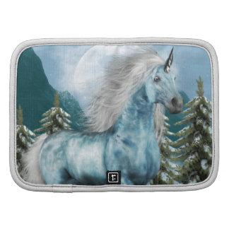 Unicorn in Moonlight Wallet Folio Organizers