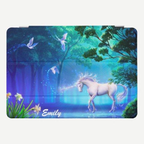 Unicorn In Moonlight Your Name iPad iPad Pro Cover