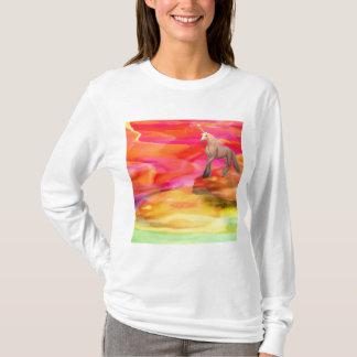 Unicorn in Painted Desert T-Shirt