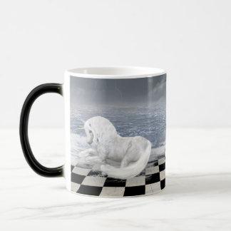 Unicorn in Surreal Seascape Morph Mug Morphing Mug